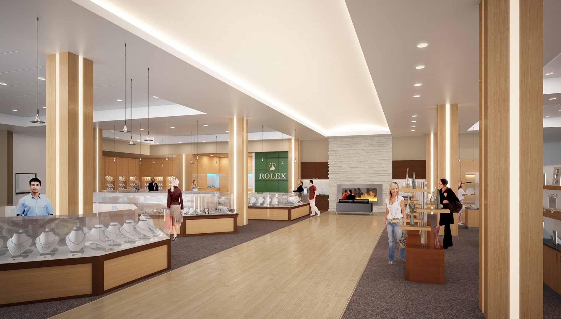 Architectural interior design services